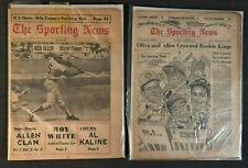 1964 + 1966 Sporting News PHILADELPHIA PHILLIES RICHIE DICK ALLEN