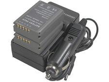 new 2 BLN-1 Battery + Charger for OMD E-M5 EM5 II M-5 M5 E-M1 EM1 E-P5 EP5 BLN1