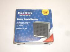 Astatic Vs2 President Cb Ham Radio Scanner External Communications Speaker 10W