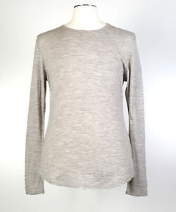 Cloudveil L Pure Merino Wool Base Layer Beige SLIM FIT