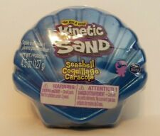 Kinetic Sand Seashell Blue 4.5 oz Container, NEW