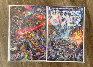 CROSSOVER #4 Alan Quah Scorpion Comics Exclusive - Variant Set ONE - SOLD OUT!!!