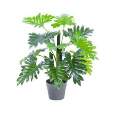 60cm Artificial Philodendron Potted Green Fake Foliage Floral Wedding Supply Au