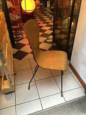SEDIA IN COMPENSATO CURVATO 50s ITALIAN STYLE BENT PLYWOOD CHAIR