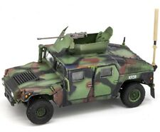 1/72 Diecast Tank US Army HMMWV M1114 Vehicle American Model with Display Case