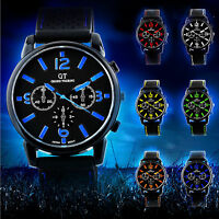 Hot Sale Mens Watches Quartz Stainless Steel Analog Sports Wrist Watch New