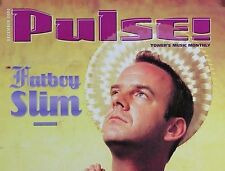 FATBOY SLIM 2000 PULSE MAGAZINE COVER POSTER
