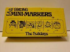 Easy Grading Mini Marker Stamp Set, The Holidays Edition, Homeschool, Teaching