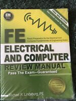 FE Electrical and Computer Review Manual by Michael R. Lindeburg (2015, Trade...