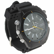 HD 32GB 1080P Waterproof Spy Watch Camera IR Night Vision Video DV DVR Camcorder