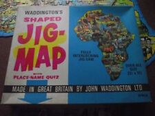 Waddingtons Maps Cardboard Jigsaws & Puzzles