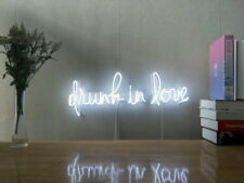 New Drunk In Love Neon Sign For Bedroom Wall Decor Artwork With Dimmable Dimmer