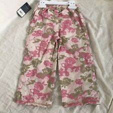 Sonoma Life+Style Infants Camo Pink Pants 24 months 100% Cotton NWT
