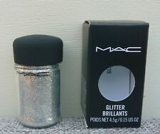 MAC Glitter Brilliants, #Silver, 4.5g / 0.15oz, Brand New In Box!!