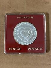1985 Poland Silver Pattern Coin
