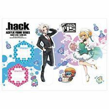 .Hack series 15th anniversary acrylic Figure Series all three Haseo & Atri ver