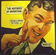 LP THE MOTHERS OF INVENTION - weasels ripped my flesh, nm