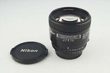 Nikkor Nikon AF 85mm 1:1.8 Nikon F Mount TOP # 5463