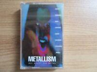 Metallism VA Rare Korea Sealed Cassette Tape NEW Sepultura Obituary Suffocation