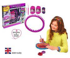 Niños Monster Sombrero Conjunto De Tejido Manualidades Arte Kit de arranque Juguete Regalo De Navidad + Telar