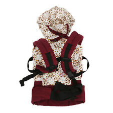 Cotton Baby Carrier Infant Comfort Backpack Buckle Sling Wrap ED