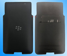Genuine BlackBerry LEATHER CASE PRIV mobile cover phone pouch Black