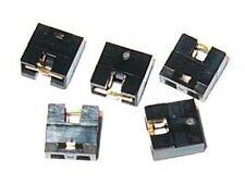 """5 X Hard Drive / CD / DVD 2 Pin Shorting Jumper Shunt - .100"""" - 2.54 mm - 2.54mm"""