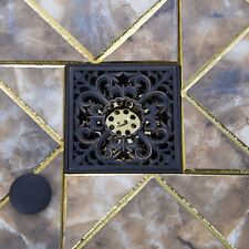 e-pak Free Shipping Bath Accessories Carved Flower Floor Drain Waste Grates NEW
