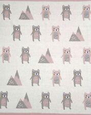 Beatrice Bear Baby Cot Pram Blanket Wrap Indus Design Baby Shower Newborn Gift
