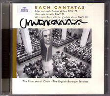 John Eliot GARDINER Signiert BACH Cantata BWV 72 111 156 Epiphany Sunday CD