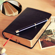 Retro Vintage Journal Diary Sketchbook Leather Cover Thick Blank Paper Notebook