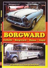 Book - Borgward - Goliath Hansa Lloyd - Isabella Arabella Alexander - Rennsport