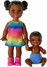 Barbie Skipper Babysitters Inc  Baby and Girl Sister Doll African American