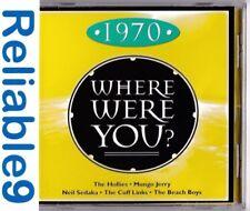 Hollies+Glen Campbell+Melanie- Where were you? 1970 CD New not sealed-2003EMI AU