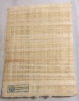 The Librarians TV Show Prop Production Egyptian Papyrus Parchment Paper Stamp