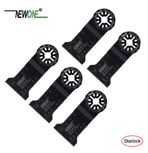 5-pack Newone HCS Multi Tool Blades Starlock Compatible Fein Bosch 45mm