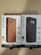 Nomad Leather Case with Card/Cash Slots for Samsung Galaxy S8+ - Brown ...