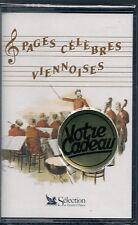 K7 AUDIO / TAPE--PAGES CELEBRES VIENNOISES / VALSE DE L'EMPEREUR/POLKA--NEUF