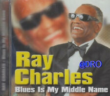 RAY Charles + CD + Blues Is My Middle Name + Tolles Album mit 12 starken Hits +