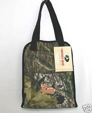 Mossy Oak Camo Diaper Bag Trimmed in Black, Camouflage Baby