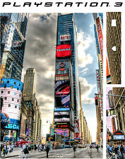 Playstation 3 PS3 New York Times Square Adesivo in vinile sottile New York