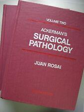2 Bände Ackerman's Surgical Pathology 1989 Pathologie