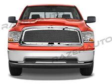 09-12 DODGE RAM Trucks 1500 Front Hood Chrome Rivet Studded+Mesh Grille+Shell