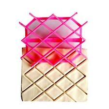 New Diamond Rhombus Cake Cookie Fondant Cutter Embossing Decorating Mold Tool LD