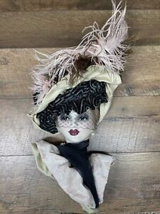 Unique Creations Limited Edition Lady Face Mask Wall Hanging Decor Artist Signed