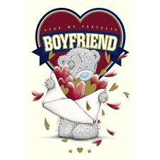 For my Perfect BOYFRIEND - Medium -Tatty Teddy Me to You - Birthday Card