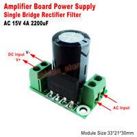 4A Audio Amplifier Rectifier Filter Power Supply Board Single AC-DC Converter