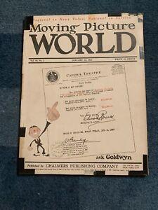 Moving Picture World magazine January 13, 1923