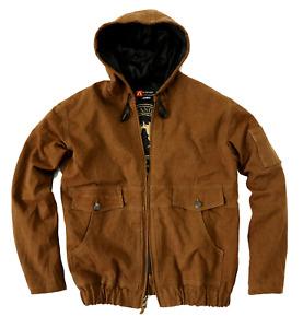 Kakadu Traders Winter Outdoor Jacke James mit Kapuze und Reißverschluss