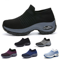 Women's Sports Air Cushion Running Shoes Outdoor Jogging Athletic Sneakers Gym
